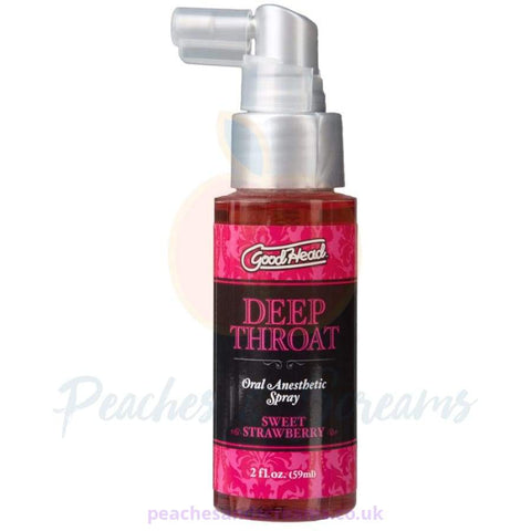 GOOD HEAD DEEP THROAT ORAL ANESTHETIC SPRAY SWEET STRAWBERRY