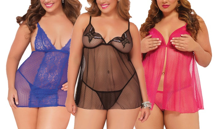 The Ultimate Cheat Sheet on Plus Size Babydolls and Chemises