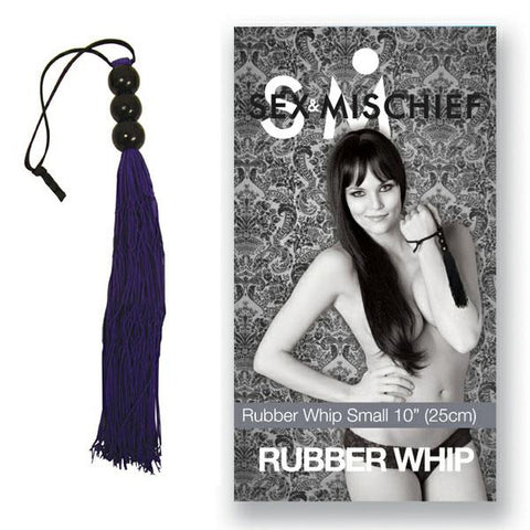 SOFT PURPLE 14-INCH RUBBER FLOGGER CROP