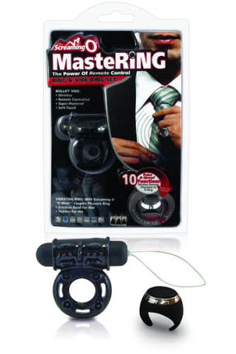 Screaming O Mastering Ring and Cock Ring Set