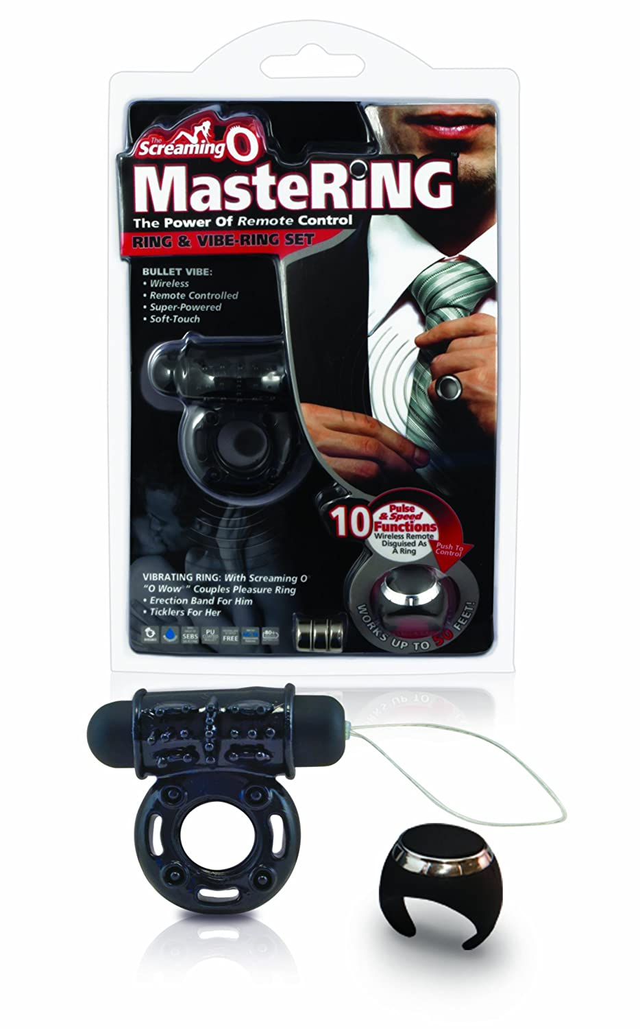 Screaming O Mastering Ring and Vibe Set