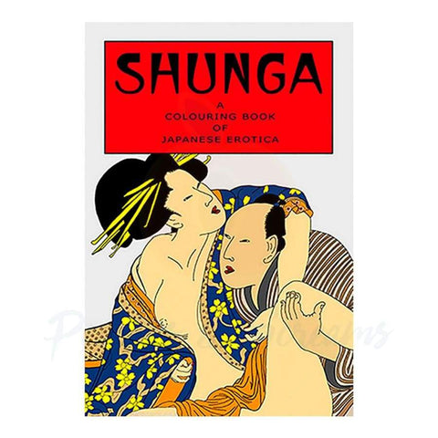 Shunga Japanese Erotica Colouring Book for Adults