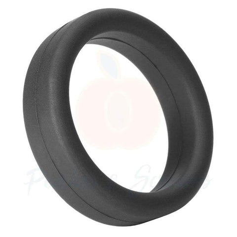 Tantus Stretchy Black Soft Silicone Cock Ring