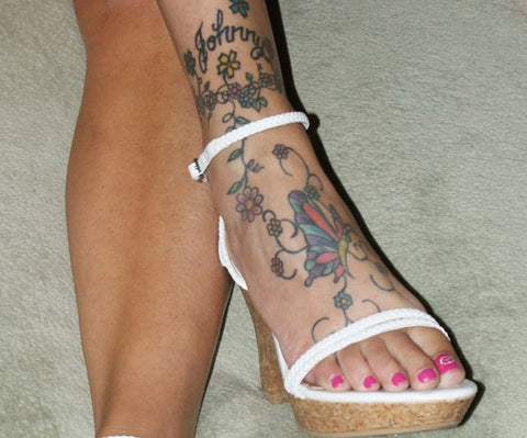The 12 Best Places for a Secret Tattoo ankle