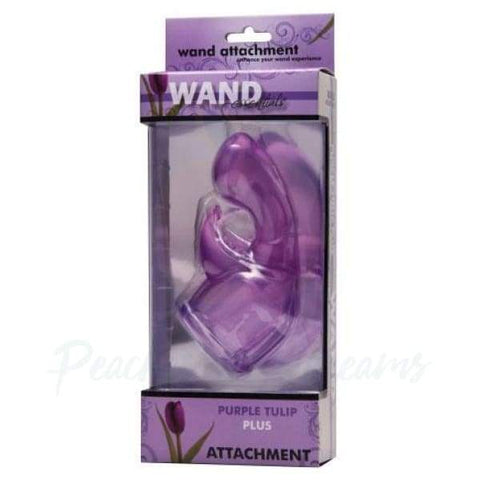 Wand Essentials Tulip Dual-Pleasure Wand Attachment with Nubbed Clit Stim