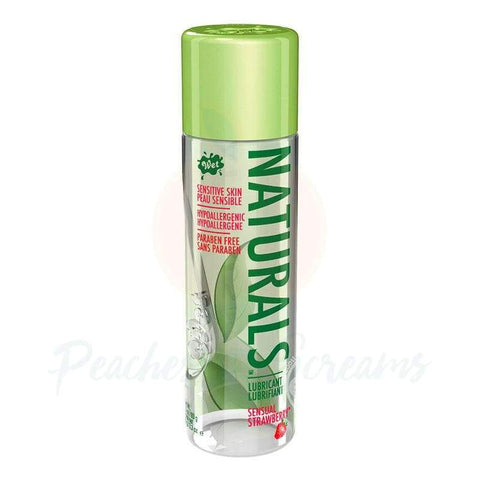 Wet Naturals Sensual Strawberry Water-Based Sex Lube, 3.3oz