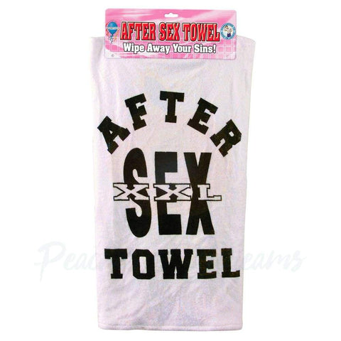 Wipe Away Your Sins XXL After Sex Towel