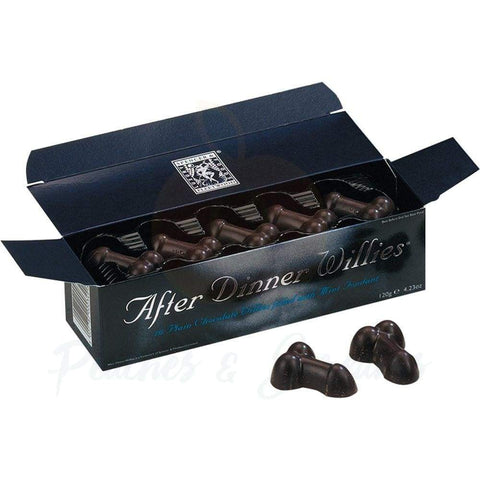 AFTER DINNER DARK CHOCOLATE WILLIES 120G