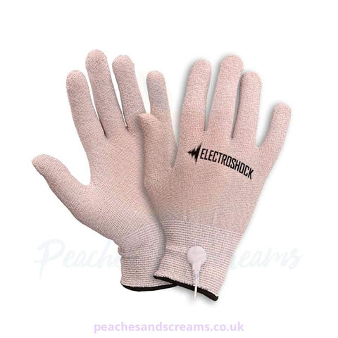 ELECTROSEX STIMULATION GLOVES FOR BDSM BONDAGE PLAY