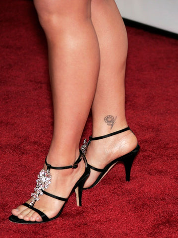 sexy tattoo feet