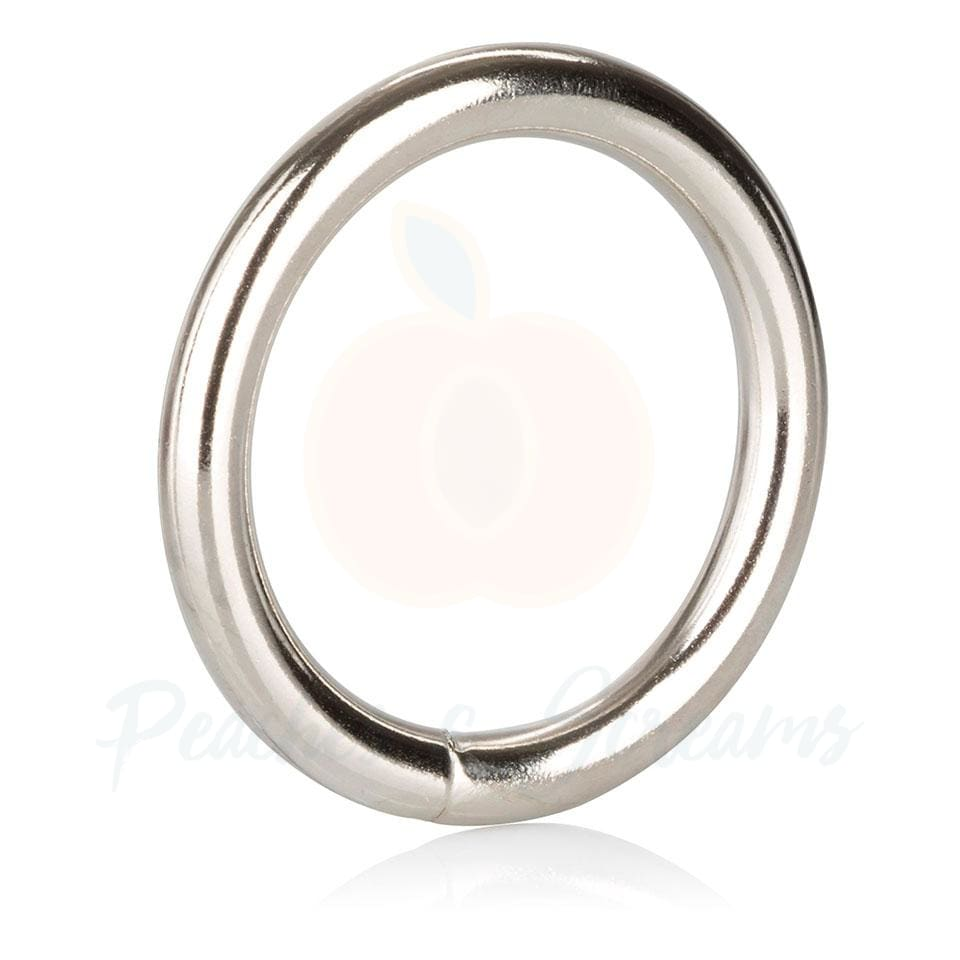 1.5-Inch Diameter Medium Metal Cock Love Ring for Men - 🍑 Necronomicox
