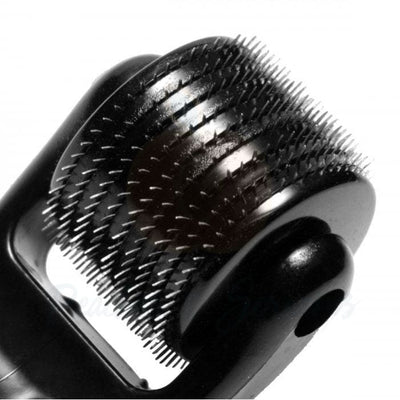 5.25-Inch Black Wartenberg Wheel with 10 Spiked Rows - Peaches and Screams
