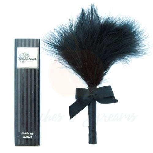 5-Inch Tickle Me Tickler Black Feather Tickler - Necronomicox