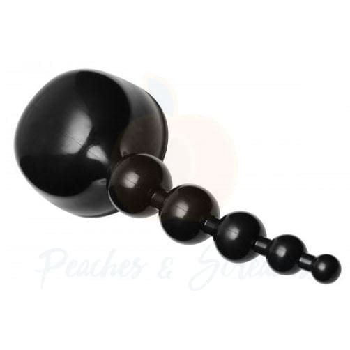 8-Inch Unisex Bubbling Bliss Anal Pleasure Beads Wand Attachment - Necronomicox