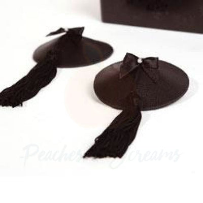 Bijoux Indiscrets Sexy Black Nipple Cover Pasties for Women - Peaches and Screams