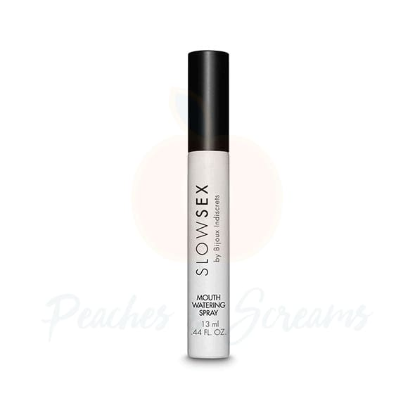 Bijoux Indiscrets Slow Sex Mouthwatering Spray for Oral Sex - 🍑 Peaches and Screams