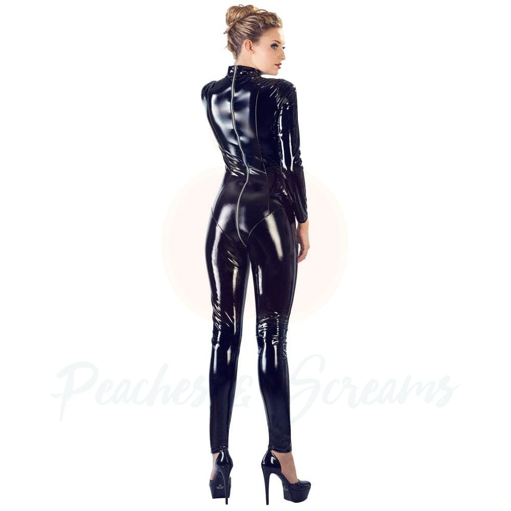 Black Level Vinyl Jumpsuit - 🍑 Peaches and Screams