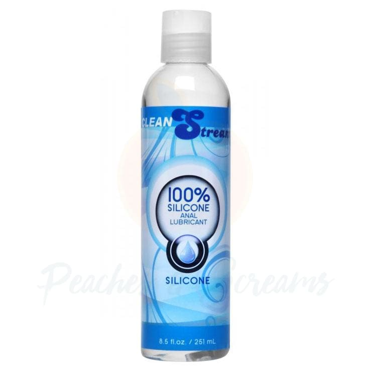 Clean Stream 100% Silicone Anal Sex Lube 8.5oz - 🍑 Peaches and Screams