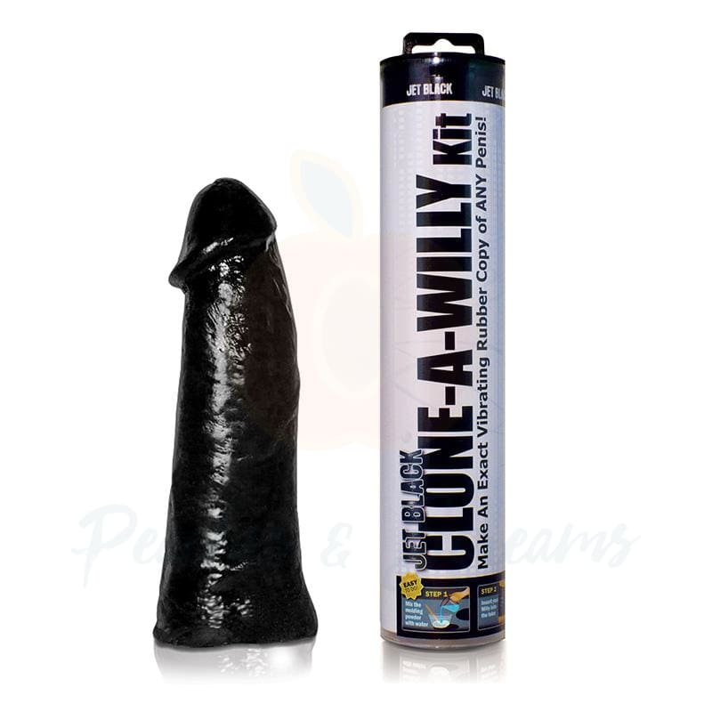 Clone-A-Willy Realistic Black Dildo Penis Moulding Kit - 🍑 Peaches and Screams