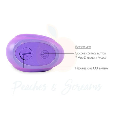 Duck Shaped Discreet and Waterproof Clitoral Vibrator for Bath and Shower - Necronomicox