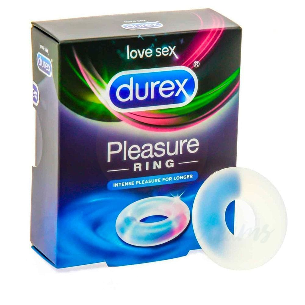 Durex Pleasure Adjustable Stretchy Cock Love Ring for Men - Necronomicox
