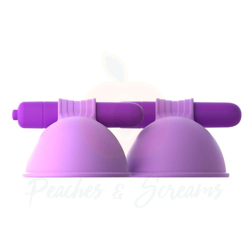 Fantasy For Her Purple Silicone Vibrating Nipple Suck Hers - Necronomicox
