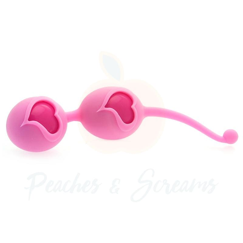 Feelztoys Desi Pink Silicone Orgasm Love Balls - Peaches and Screams
