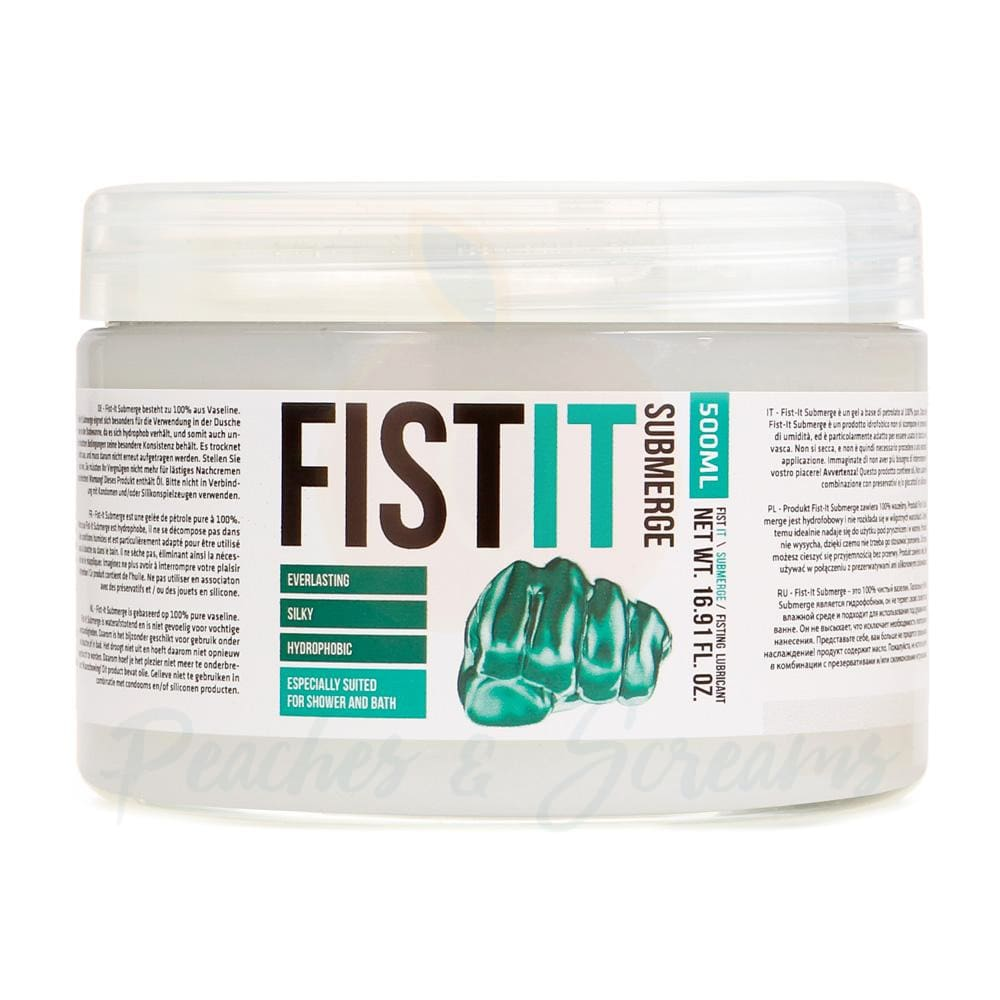 Fist It Submerge Petroleum Jelly 500ml - Necronomicox