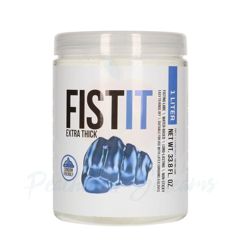 FistIt Intimate Anal Extra Thick Lubricant in a Jar 1l - Necronomicox