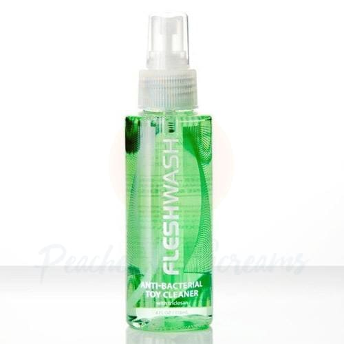 Fleshwash Fleshlight Anti-Bacterial Sex Toy Spray Cleaner (100ml) - 🍑 Peaches and Screams