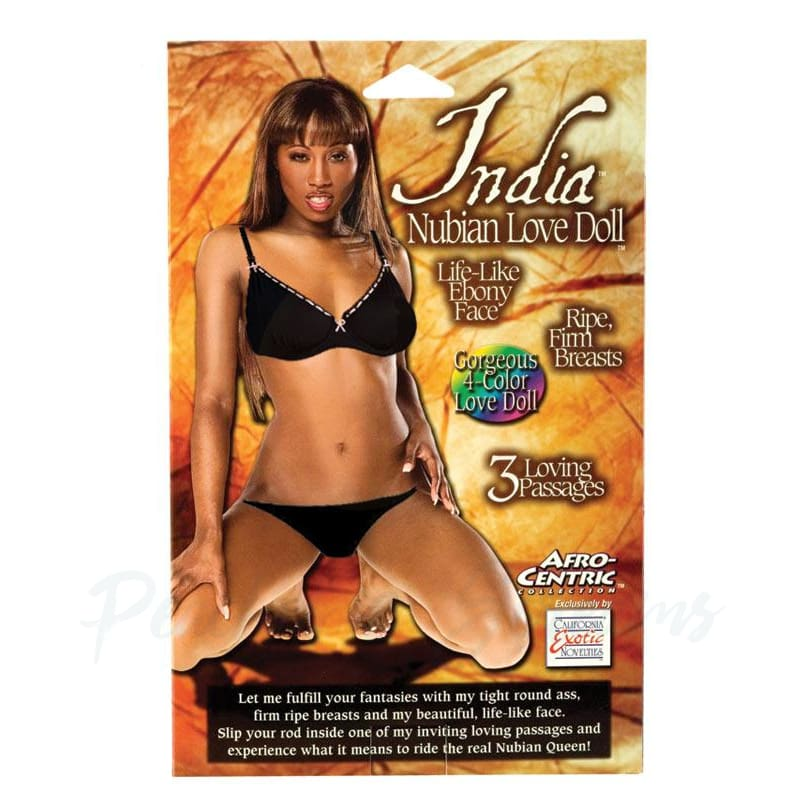 India Nubian Love Sex Doll with 3 Love Holes - Peaches and Screams