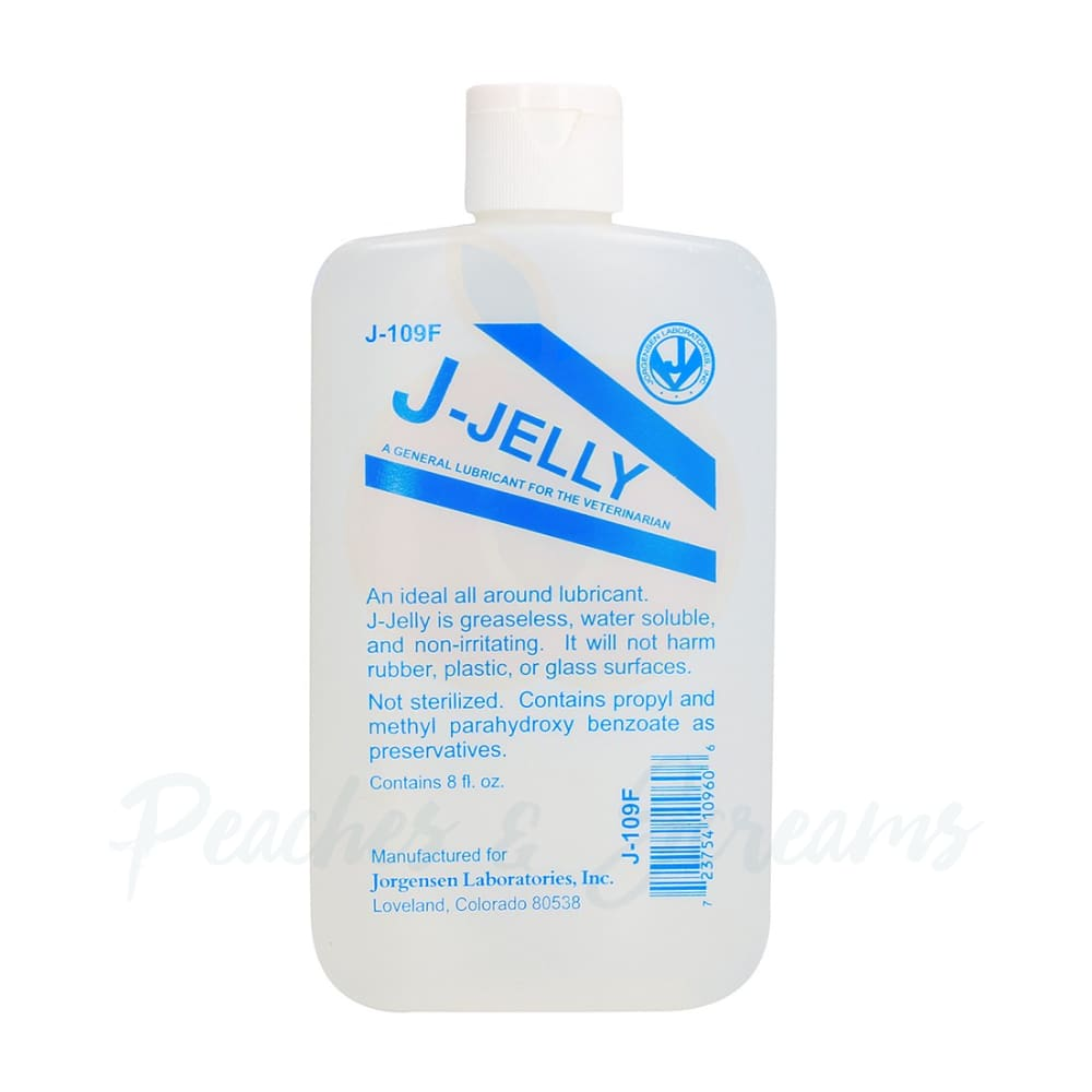 JJelly Flask All-Around Sex Lubricant 240ml - Peaches and Screams