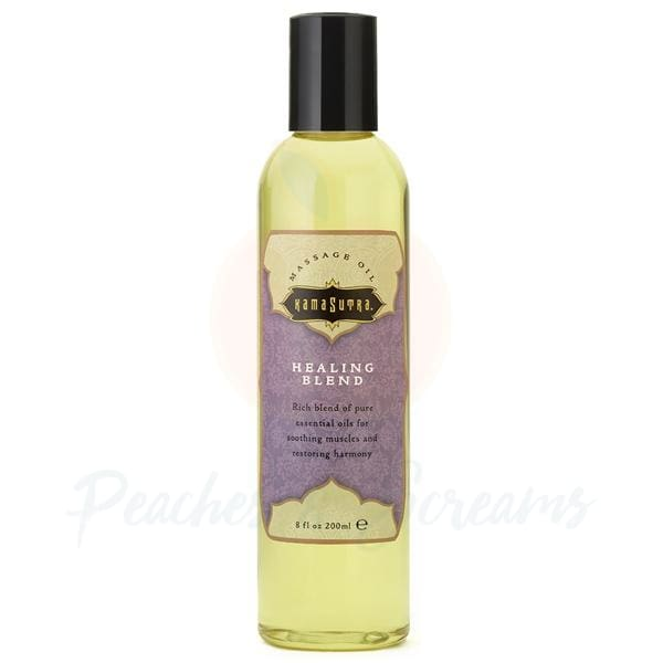 Kama Sutra Erotic Massage Oil Healing Blend 200ml - Peaches and Screams