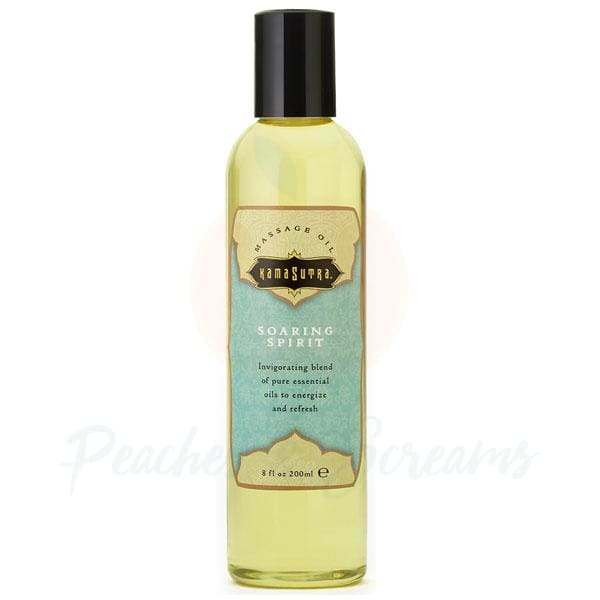 Kama Sutra Massage Oil Soaring Spirit 200ml - 🍑 Peaches and Screams