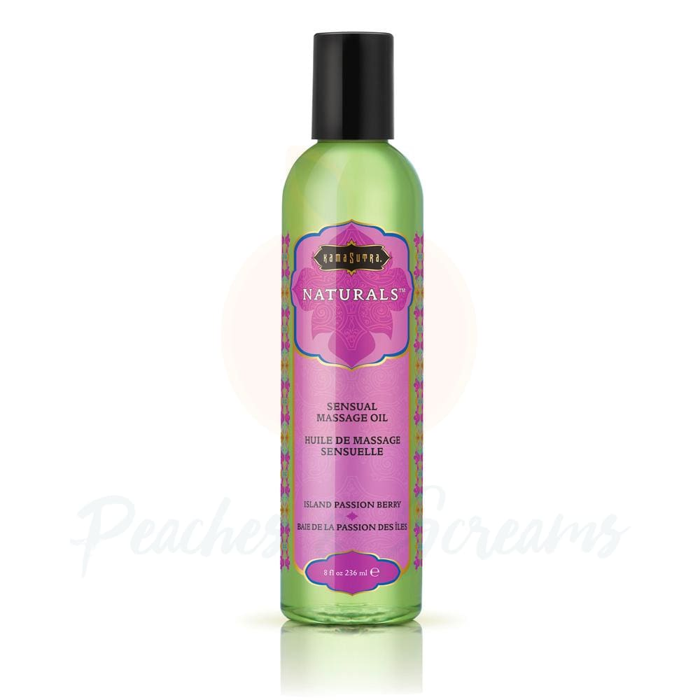 Kama Sutra Naturals Erotic Island Passion Berry Erotic Massage Oil - 🍑 Peaches and Screams