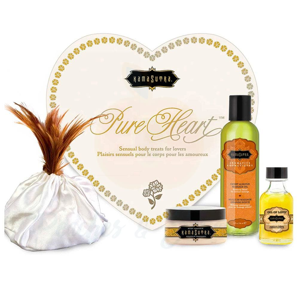Kama Sutra Pure Heart Love Kit for Couples - 🍑 Peaches and Screams