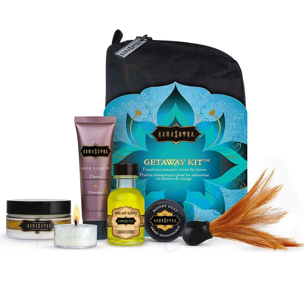 Kama Sutra Travel Size Getaway Kit for Lovers - Necronomicox