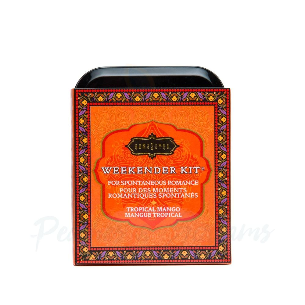 Kama Sutra Weekender Kit In A Tin Tropical Mango - Peaches and Screams