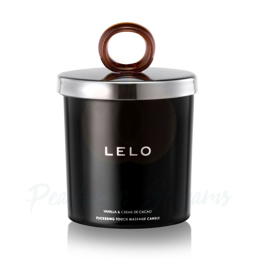 Lelo Vanilla and Crème De Cacao Erotic Massage Candle - Peaches & Screams