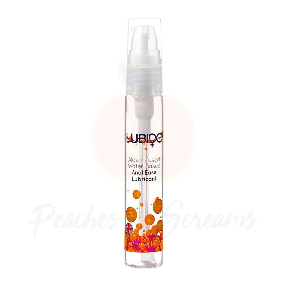 Lubido 30ml Paraben Free Water Based Anal Sex Lube - Peaches and Screams