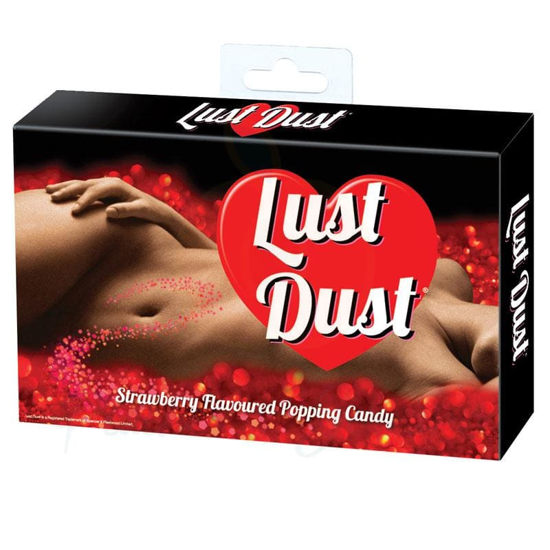 Lust Dust Edible Popping Candy Strawberry Flavour - 🍑 Peaches and Screams