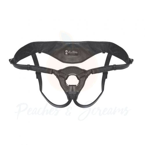 Lux Fetish Patent Leather Strap-On Harness for Strap-On Sex - 🍑 Peaches and Screams