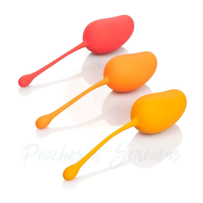 Mango Kegel Training Set with 3 Gradually Weighted Exercises - Peaches and Screams