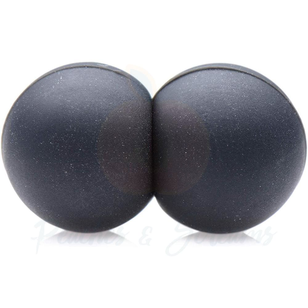Master Series Sin Spheres Silicone Magnetic Balls - Peaches and Screams