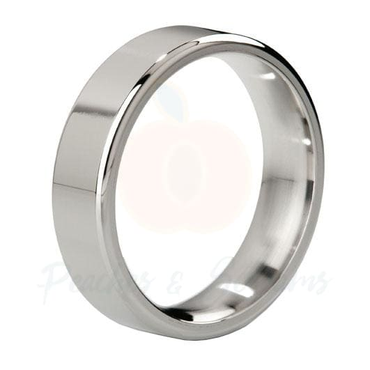 MyStim Duke Stainless Steel Polished Cock Love Ring - Necronomicox