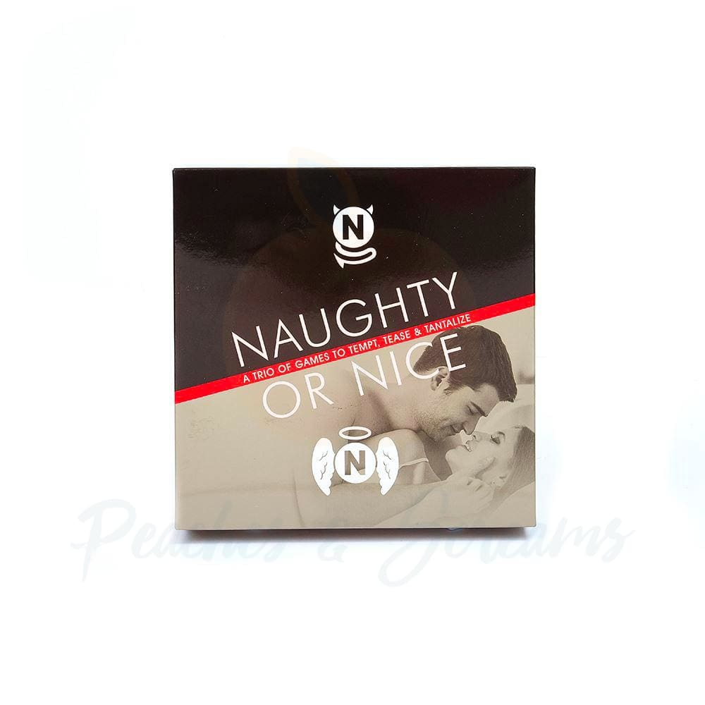 Naughty Or Nice A Trio Of Games To Tempt Tease And Tantalize - Peaches & Screams