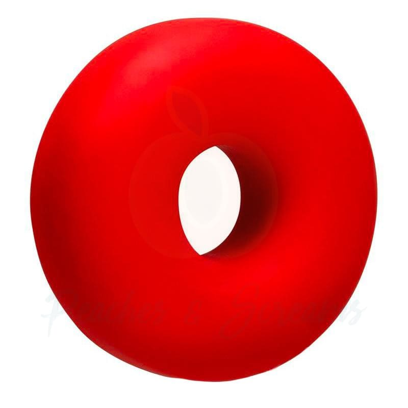 Oxballs Oxsling Red Silicone Mega Stretch Cock Ring - Peaches and Screams