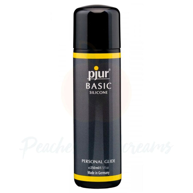 Pjur Basic Silicone Personal Glide Intimate Sex Lube 250ml - Peaches and Screams