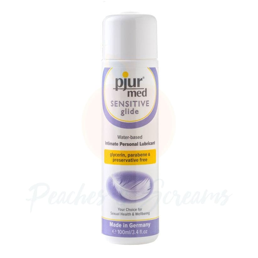 Pjur Med Sensitive Glide Intimate Personal Sex Lube 100ml - Peaches and Screams