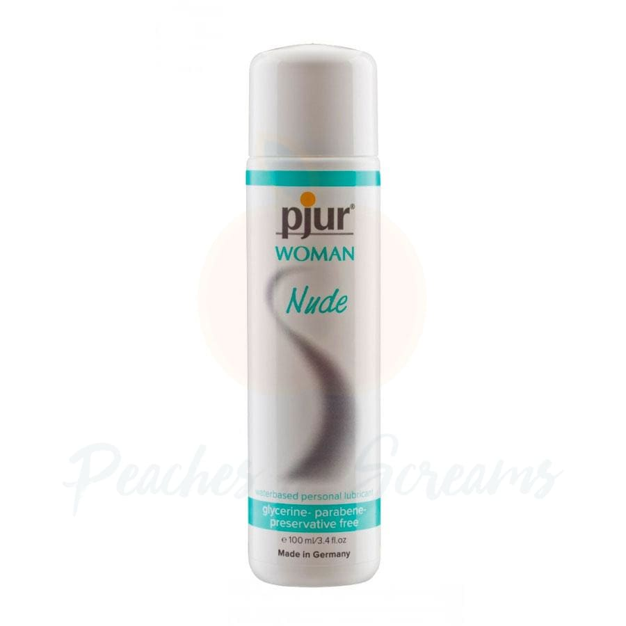 Pjur Woman Nude Water-Based Personal Intimate Sex Lube 100ml - 🍑 Peaches and Screams